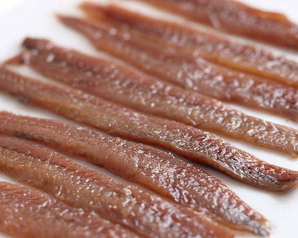 Filets Anchois - mer cantabrique - Pays Basque sud - huile d'olive