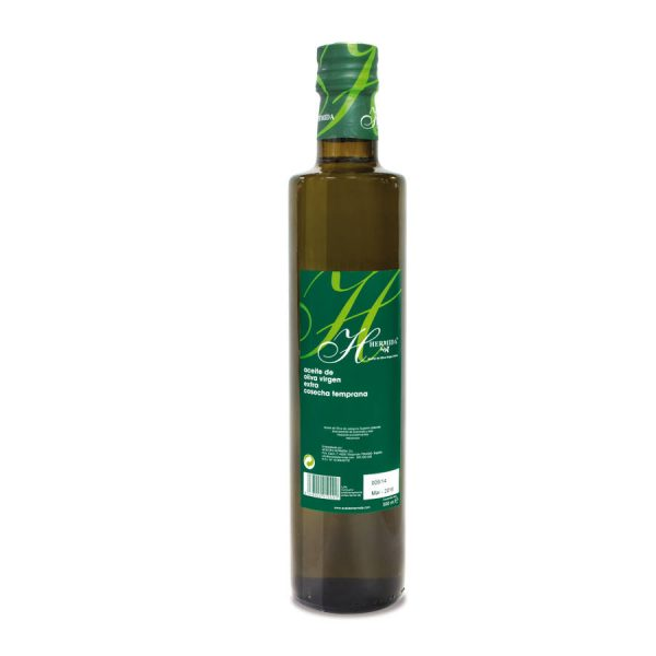 Huile d'olive artisanale Hermida Picual 500 ml