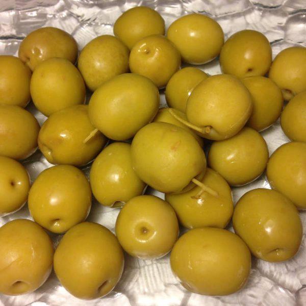 Olives Jaune marinée au jus d'anchois