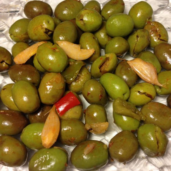 Olives Verte duo de piment