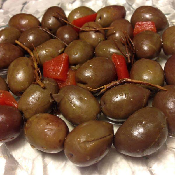 Olives Violette Azuaga à l'ancienne